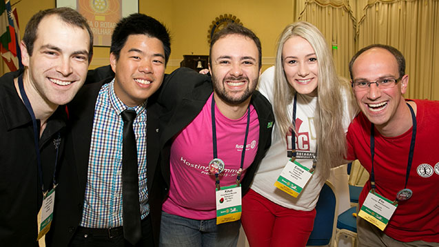 During Rotaract Talks, Rotaractors share short personal stories with connections to broader social themes.
